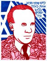 Oskar Schindler by RedAmerican1945
