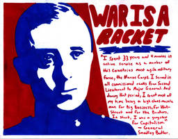 War is a Racket. by RedAmerican1945
