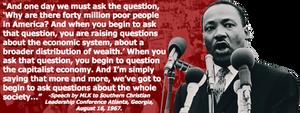 MLK on capitalism.