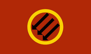 Bundist Antifascist Flag