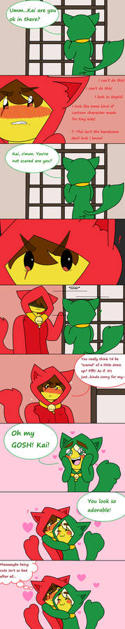 Greenflame - Matching Kitty Couple - Part 2