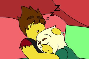 Sleepy boyfriends