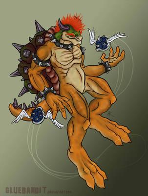 Koopa King by GlueBandit