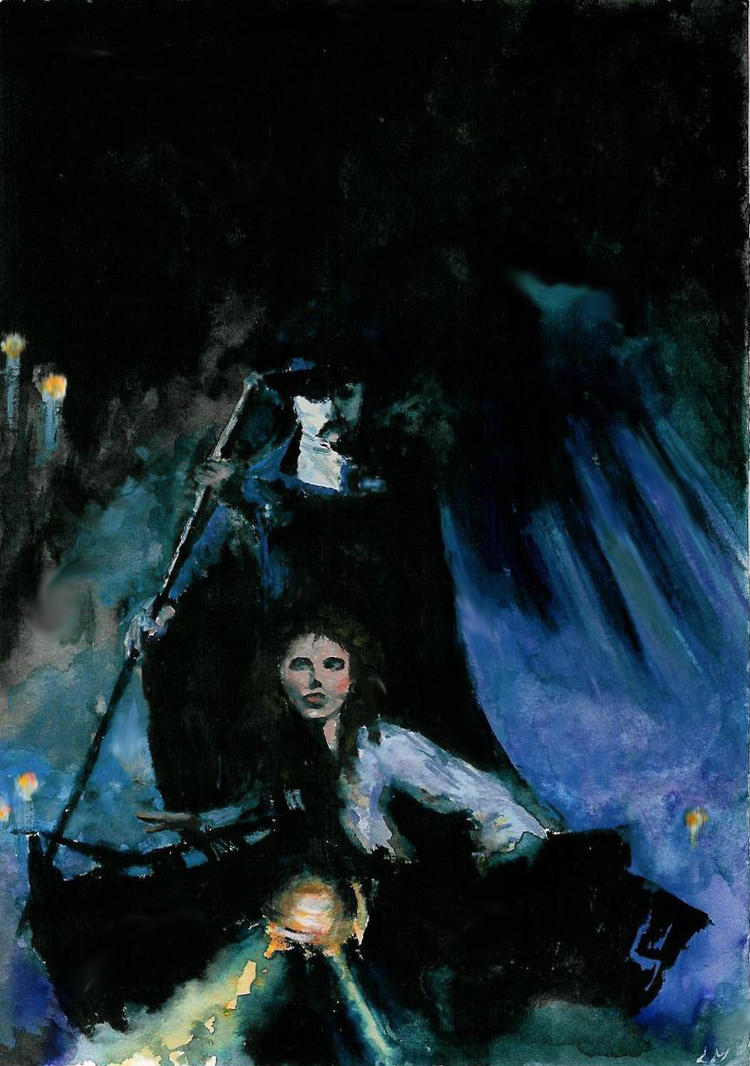 Phantom of the Opera by rawenna