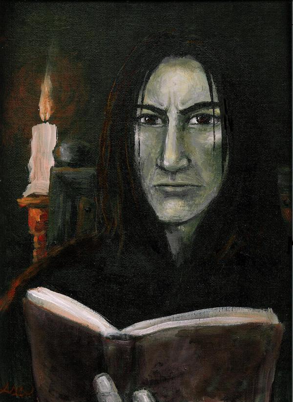 Severus Snape by rawenna