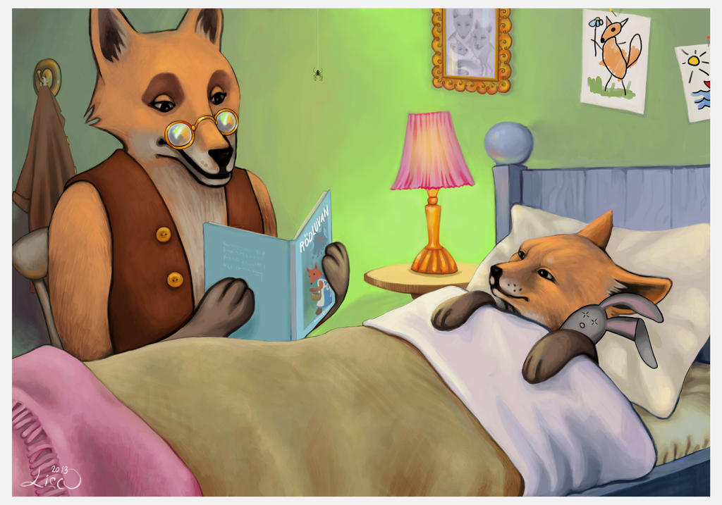 Bedtime Story by rawenna