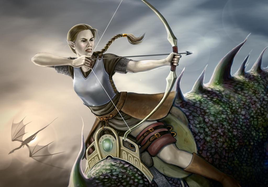 Dragonrider by rawenna