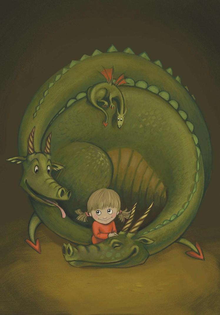 Saga and the Dragons by rawenna