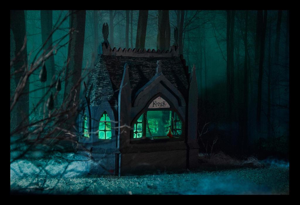 Vampire Kiosk by rawenna
