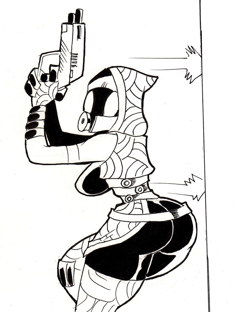 Tali 2 by ZarkonSpacePirateGod