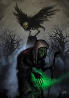 Slavic Demon I - Color by DoctorGurgul