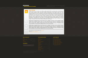 Website Layout - Blog by oOoDeXoNoOo