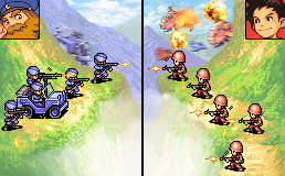 Advance Wars Mountain Skirmish by BalloonPikachu