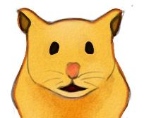 Lottie the hamster by SilvaPluviaris