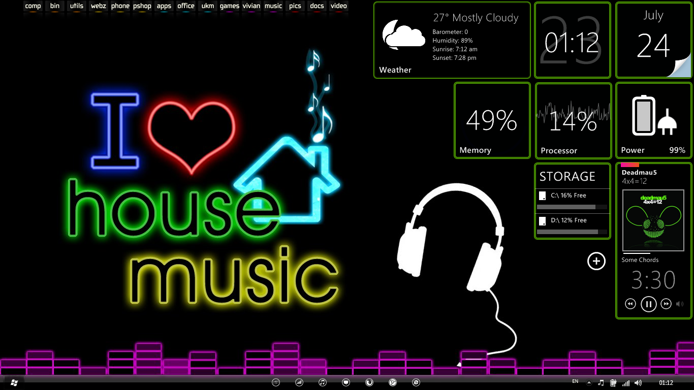 I love house music by vivian1990 on deviantart for 1990 house music
