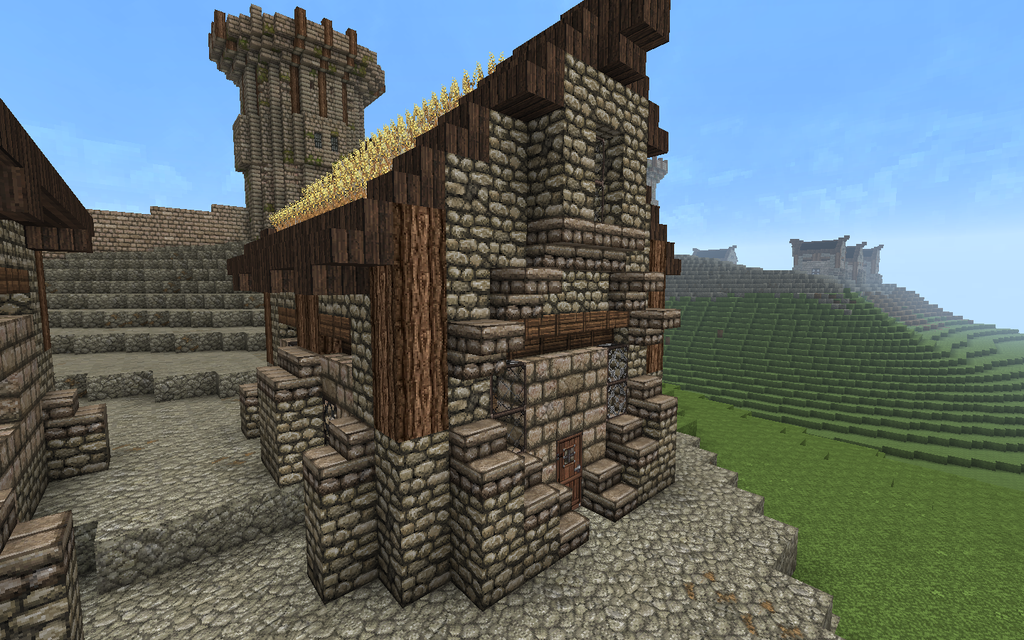 Minecraft Roof   Auto ...