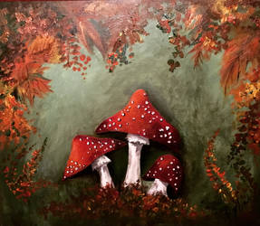 Fly agaric by jennywande