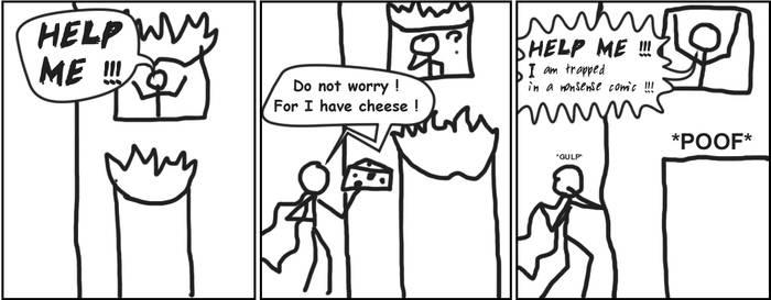 Sankoma 002 : Cheesy superhero
