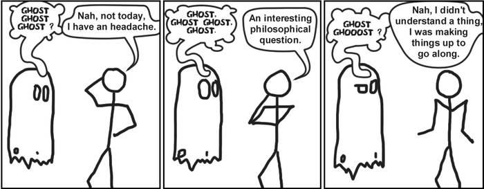 Sankoma 003 : Ghost talk