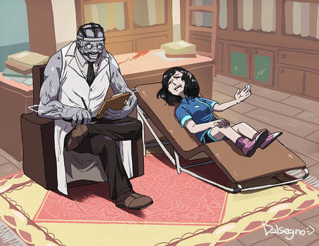 Dead By Daylight _ Doctor's Therapy