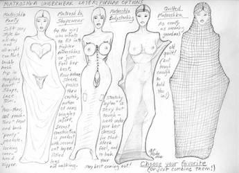 Matroshka underwear by Artefoster