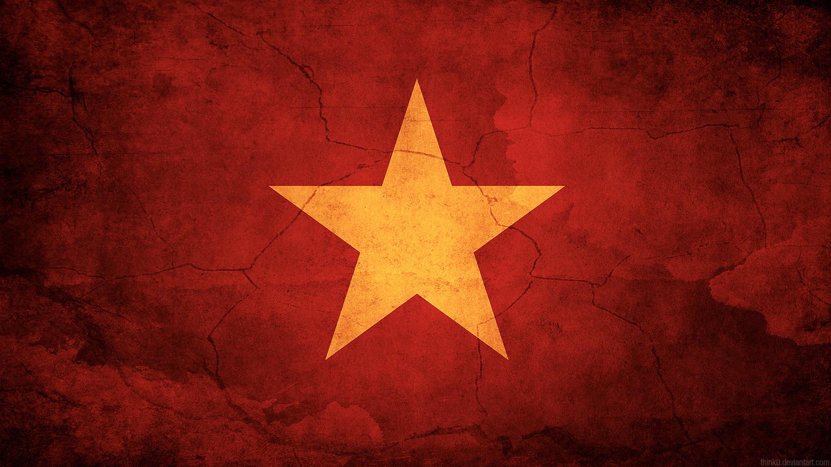 Hình nền lá cờ Việt Nam, Cờ đỏ sao vàng - Full HD