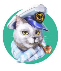 Sailor-cat