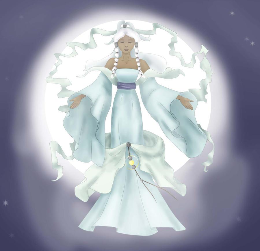 Moon In Avatar Movie: Yue By N71195 On DeviantArt