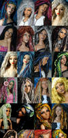 ANGELS Fantaisie Fiber wigs A