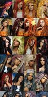 ANGELS Fantaisie Fiber wigs B