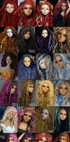 ANGELS Fantaisie Fiber wigs C