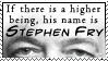 Stephen Fry Stamp