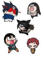 stupid_ninjas_collab by Selene-Moon