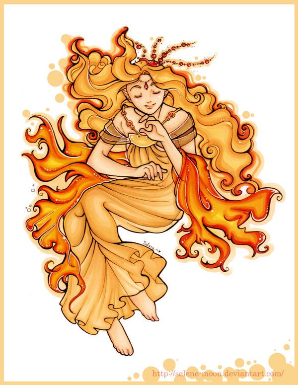 Selene Moon Goddess. When Goddess Sings Your Melody