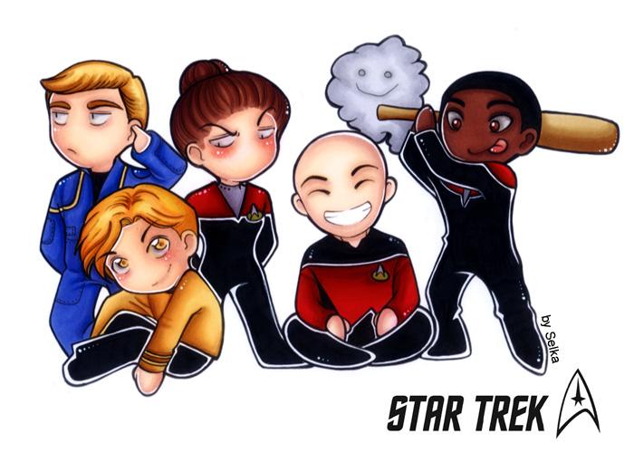 star trek - 5 by Selene-Moon