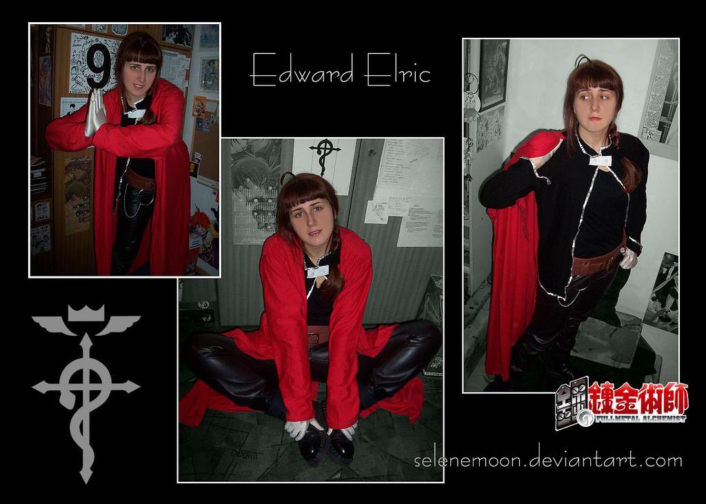 FMA_Edward Elric_cosplay by Selene-Moon