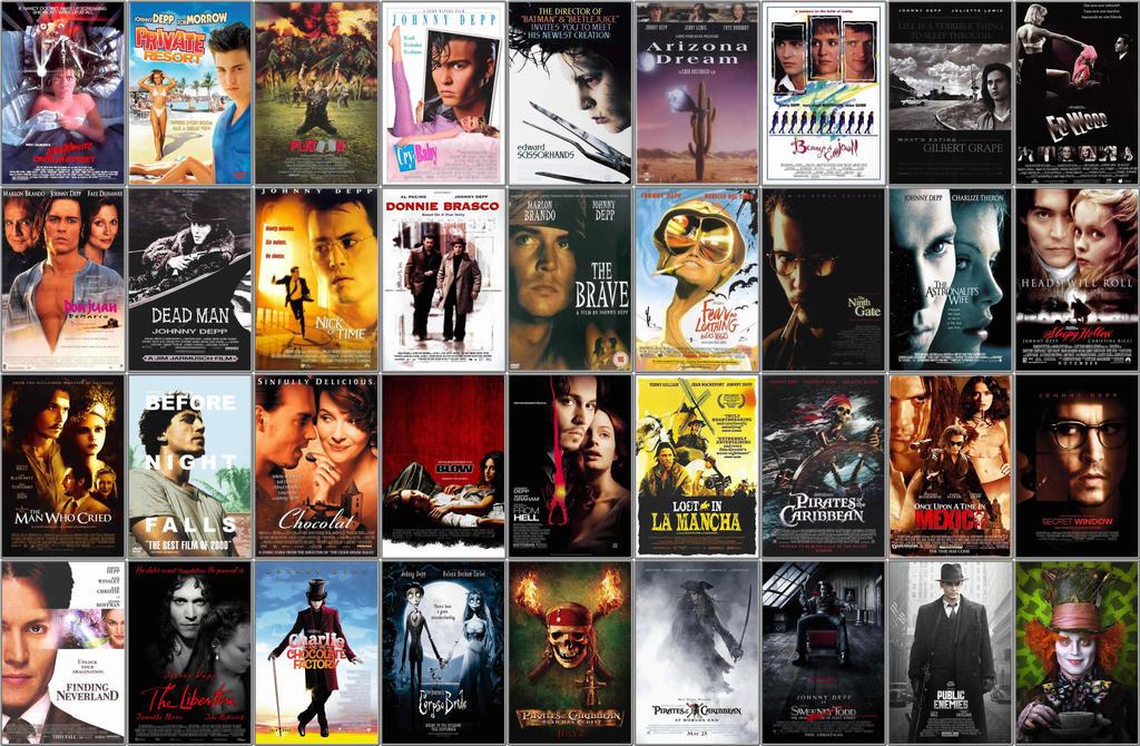 A List Of Johnny Depp Movies