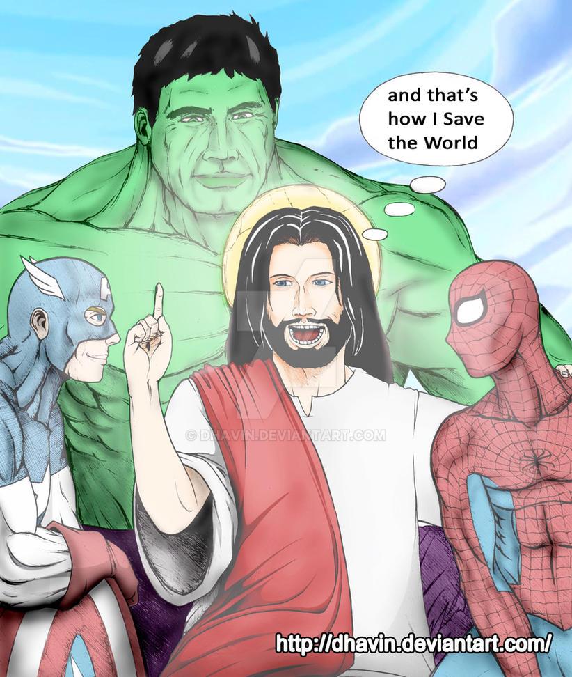 Jesus Saved US by dhavin
