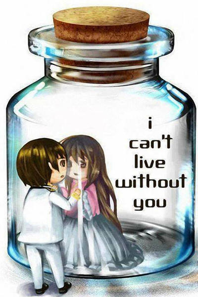 I can't live Without you my love by AwiiHyder on DeviantArt