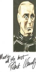 Red Dwarf Krtyon (Robert Llewellyn) signed Fanart by thunderaxewarrior