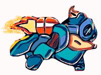 Sparkster flying model by cobra10