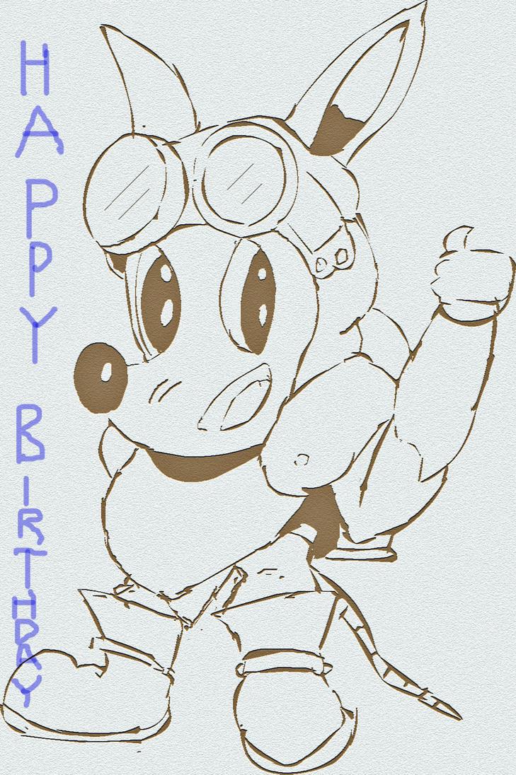 Happy birthay Artoonist by cobra10