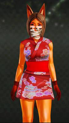 Ak girl (costume 2)