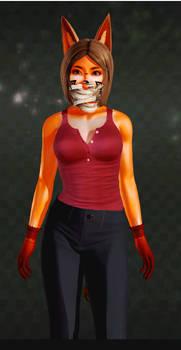 Ak girl (casual clothes, yes sensei clothes)