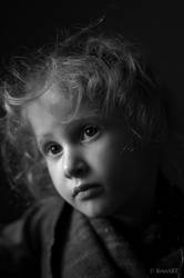 Portrait of Girl by RomART