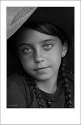 Portrait of Little Shepherdess by RomART