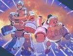 Suit up Robo/Ride Armor!