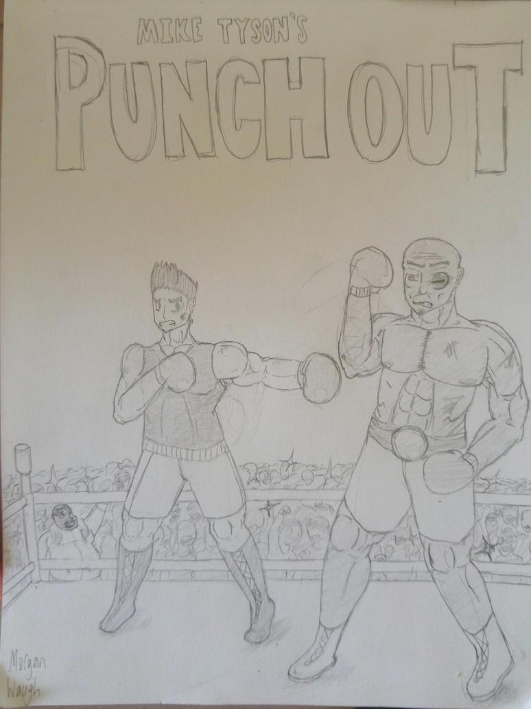 Mike Tyson's Punch Out fan art by SonicDude180