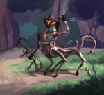 Hunter robot