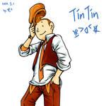 Drawing TinTin